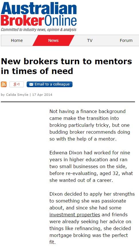 The australian broker online